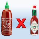 Tabasco x Sriracha – Qual a diferença desses Molhos de Pimenta?